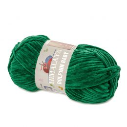 Himalaya Dolphin Baby 80331 zielony. Kod EAN 8697681162961 - pluszowa. poliestrowa włóczka.
