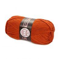 Madame Tricote Paris Tango 107 rudy. Mięciutka w dotyku akrylowa włóczka