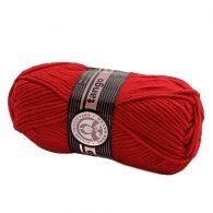 Madame Tricote Paris Tango 033 czerwony. Mięciutka w dotyku akrylowa włóczka
