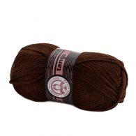 Madame Tricote Paris Tango 083 brązowy. Mięciutka w dotyku akrylowa włóczka
