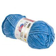 Himalaya Dolphin Baby 80341 jeans. Kod EAN 8697681172946 - pluszowa, poliestrowa włócza.