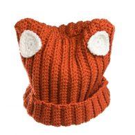 Czapka Lisek to idealny wybór na zimę by utrzymać ciepło swojego ciała