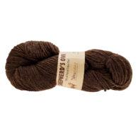 Fibranatura Shepherd's Own 40007 hiszpańska wełna wysokiej jakości w kolorze ciemnobrązowym