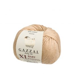 Gazzal Baby Cotton xl 3424 powiększona wersja wspaniałej włóczki do amigurumi