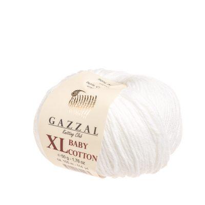 gazzal baby cotton xl 3432 powiększona wersja włóczki idealnej do amigurumi