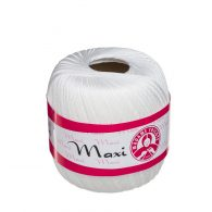 Madame Tricote Paris Kordonek Maxi kolor 1000, biały