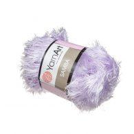 """Yarn Art Samba 06 w kolorze liliowym. Fantazyjna włóczka typu """"trawka"""""""