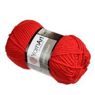 Yarn Art Merino Bulky kolor czerwony 156.