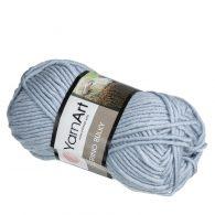 yarn art merino bulky 3072 popielaty miękka mieszanka akrylu z merynosem