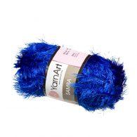 yarn art samba 2032 w kolorze kobaltowym włóczka trawka