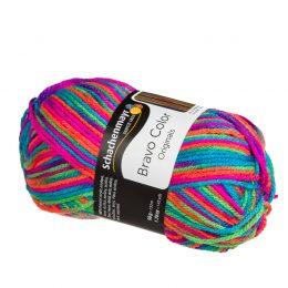 Bravo Color 00095 kolorowa akrylowa włóczka
