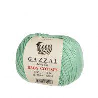 Gazzal Baby Cotton 3425 włóczka do amigurumi