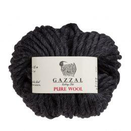 Gazzal Pure Wool 5249 czarny australijska wełna