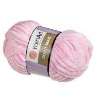 yarn art dolce maxi 750 gruba pluszowa włóczka w kolorze różowym