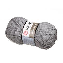 Yarn Art Jeans Plus 46 szary