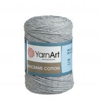 Yarn Art Macrame Cotton 783 szary sznurek makramowy.