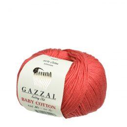 Gazzal Baby Cotton 3418 koralowy