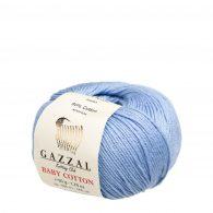 Gazzal Baby Cotton 3423 niebieski