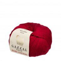 Gazzal Baby Cotton 3439 ciemna czerwień