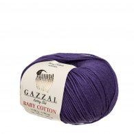 Gazzal Baby Cotton 3440 ciemny fiolet