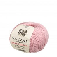 Gazzal Baby Cotton 3444 pudrowy róż