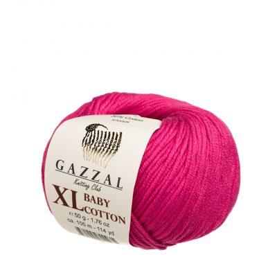 Gazzal Baby Cotton XL 3415 fuksja