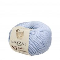 Gazzal Baby Cotton XL 3429 błękitny