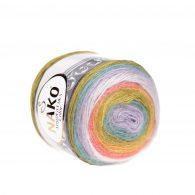 Nako Angora Luks Color 81910 włóczka na chusty