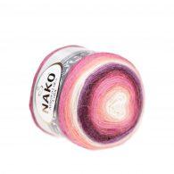 Nako Angora Luks Color 81916 włóczka na chusty