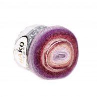 Nako Angora Luks Color 81918 włóczka na chusty