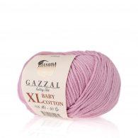 Gazzal Baby Cotton XL 3422 lila to bawełniano-akrylowa włóczka występująca w wielu pięknych kolorach, idealna do amigurumi.