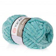 Yarn art dolce maxi 770 gruba pluszowa włóczka w kolorze morskim. Większa siostra sławnej Dolphin Baby, idealna na zabawki lub koce