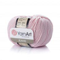 Włóczka Yarn Art Jeans 18 w kolorze cukierkowym to kultowa propozycja największego tureckiego producenta.
