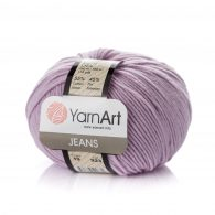 Włóczka Yarn Art Jeans 19 w kolorze lawendowym to kultowa propozycja największego tureckiego producenta.
