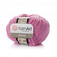 Włóczka Yarn Art Jeans 20 w kolorze wrzosowym to kultowa propozycja największego tureckiego producenta