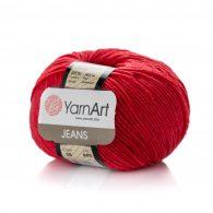 Włóczka Yarn Art Jeans 26 w kolorze mikołajkowym to kultowa propozycja największego tureckiego producenta.