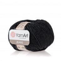 Włóczka Yarn Art Jeans 28 w kolorze ciemnym szarym to kultowa propozycja największego tureckiego producenta. Jej skład to mieszanka bawełny z akrylem.