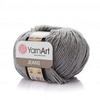 Włóczka Yarn Art Jeans 46 w kolorze szarym to kultowa propozycja największego tureckiego producenta