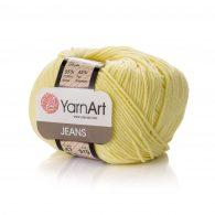 Włóczka Yarn Art Jeans 67 w kolorze bananowym to kultowa propozycja największego tureckiego producenta.