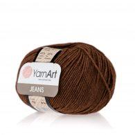 Włóczka Yarn Art Jeans 70 w kolorze miedzianego brązu to kultowa propozycja największego tureckiego producenta. Jej skład to mieszanka bawełny z akrylem.