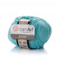 Włóczka Yarn Art Jeans 76 w kolorze błękitnym to kultowa propozycja największego tureckiego producenta