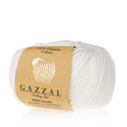 Gazzal Organic Baby Cotton 415 konwalia to włóczka z bawełny organicznej występująca w wielu pięknych kolorach, idealna dla dzieci.