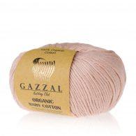 Gazzal Organic Baby Cotton 416 liczi to włóczka z bawełny organicznej występująca w wielu pięknych kolorach, idealna dla dzieci.