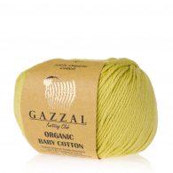 Gazzal Organic Baby Cotton 426 pistacja to włóczka z bawełny organicznej występująca w wielu pięknych kolorach, idealna dla dzieci.