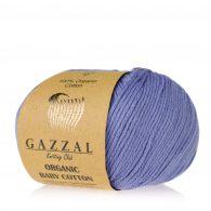 Gazzal Organic Baby Cotton 428 śliwka to włóczka z bawełny organicznej występująca w wielu pięknych kolorach, idealna dla dzieci.