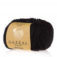 Gazzal Organic Baby Cotton 430 czarny bez to włóczka z bawełny organicznej występująca w wielu pięknych kolorach, idealna dla dzieci.