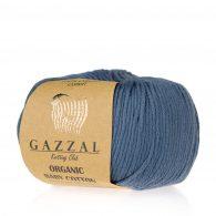 Gazzal Organic Baby Cotton 434 borówkowy to włóczka z bawełny organicznej występująca w wielu pięknych kolorach, idealna dla dzieci.