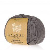 Gazzal Organic Baby Cotton 435 grafit to włóczka z bawełny organicznej występująca w wielu pięknych kolorach, idealna dla dzieci.