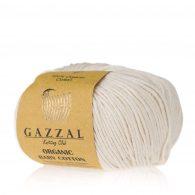 Gazzal Organic Baby Cotton 436 naturalny to włóczka z bawełny organicznej występująca w wielu pięknych kolorach, idealna dla dzieci.