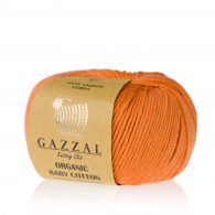 Gazzal Organic Baby Cotton 438 w kolorze batat